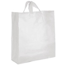 16x6x18 Clear  frost shopper