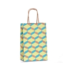 Geo Cubs Paper Shopping Bag