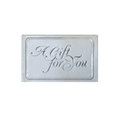 Gift cards silver