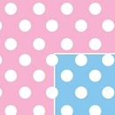 baby dots baby gift wrap