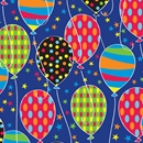 Party Balloons Gift Wrap