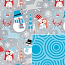 reversible snowplay holiday gift wrap