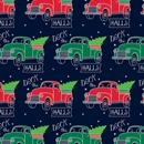 deck the halls holiday gift wrap