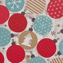 Twinkling Ornaments Gift Wrap Category