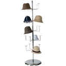 Hat rack revolving