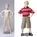 boy 6-7yr child mannequin