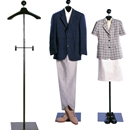 unisex floor standing costumer with hanger