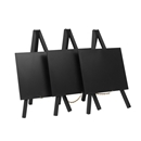 Securit® Mini Easel Table Top Chalkboard Set of 3