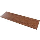 "Dark Walnut Melamine Shelving 12""x48"""