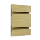 Slatwall hardrock maple 2x8