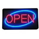 Animated LED Open Sign