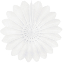 white paper flower hanging paper decorations