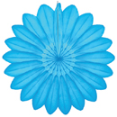 turquoise paper flower hanging paper decorations