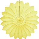 yellow paper flower hanging paper decorations
