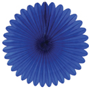 blue paper fan hanging paper decorations