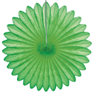 light green paper fan hanging paper decorations