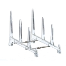 Dinnerware easel multi plate stand