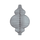gray 3d paper ornament gray hanging paper decorations