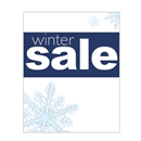 22x28 Winter sale poster