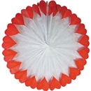 Paper Fan with Hearts 26""