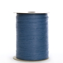 Ribbon paper wraphia royal blue