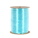 Ribbon pearlized wraphia Robins egg blue