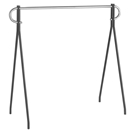 "Single Bar Garment Rack - 63"" H"