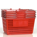 Kit, 5 Red Shopping Baskets
