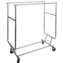 Double bar rolling rack