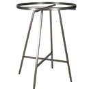 Raw steel round rack