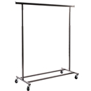 Raw steel rolling rack