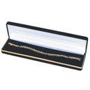 Classic velvet covered bracelet box