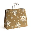 16x6x13 Snowday Paper Shopping Bag
