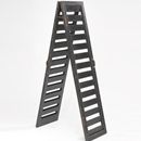 Rustic Black 2-Sided Shutter Ladder display