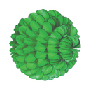 light green paper sphere hanging paper decorations