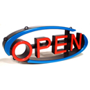 Swivel OPEN Sign