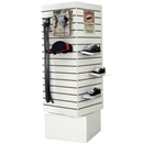 Slatwall unit White