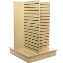 4-Way Slatwall Unit Maple