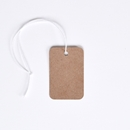 1-1/4 x 1-7/8 Kraft Tag with String
