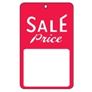 1-3/4x2-7/8 Sale tag with string