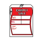 Carpet Sale Tag