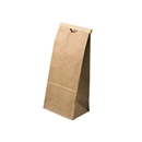 Kraft Tin Tie Bag 3-3/8 x 2-1/2 x 7-3/4