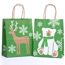 8x4¾x10½ Woodland Critters Paper Shopping Bag Category