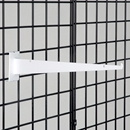 Grid shelf bracket 14 inch white