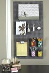 A fun DIY project with pegboard and soup cans