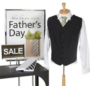 Attract customers with Father's Day posters