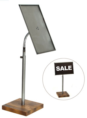 Sign holders help streamline your displays