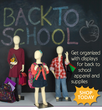 Back-to-school book displays for all ages