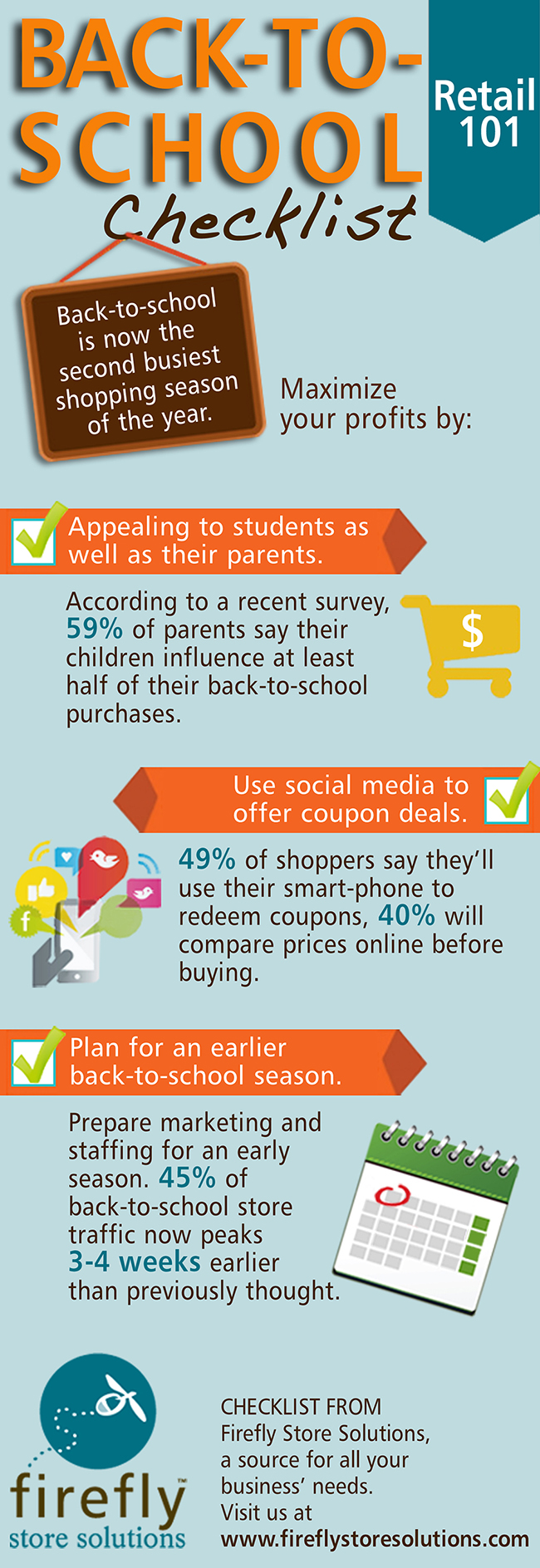 back-to-school retail infographic