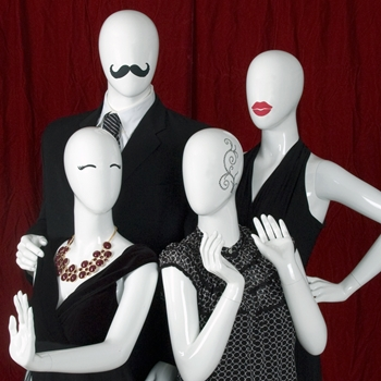 Mannequins for all clothing types increase a store's flexibility